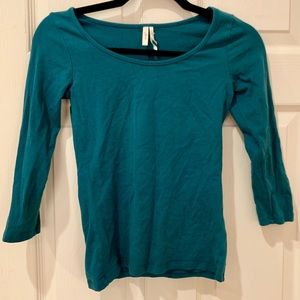 Frenchi Knit 3/4 Top for Layering